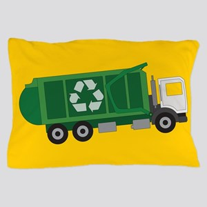 Recycling Truck Pillow Case