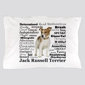 Jack Russell Traits Pillow Case
