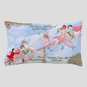 1 A Gerda Wegener Art Deco Calendar Pillow Case
