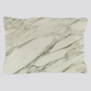 Carrara Marble Design Pillow Case