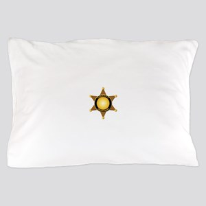 Sheriff's Department Badge Pillow Case