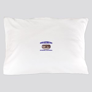 March Air Force Base Pillow Case