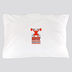 crossfit cross fit champion lifter light Pillow Ca