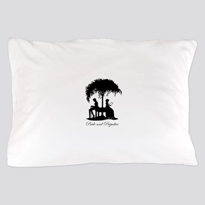 Pride and Prejudice Darcy and Lizzie Pillow Case