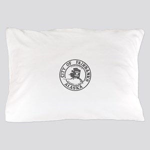 Vintage Fairbanks Alaska Pillow Case