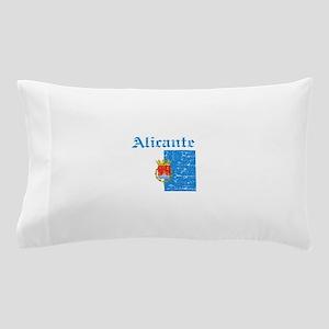 Alicante flag designs Pillow Case