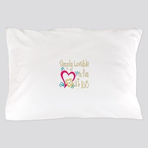 Lovable 103rd Pillow Case
