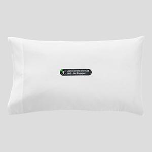 Got Engaged (Achievement) Pillow Case