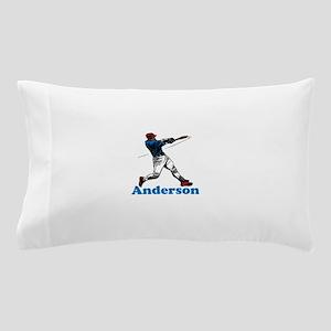 Personalized Baseball Pillow Case