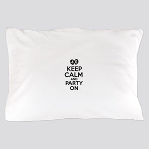 Funny 40 year old gift ideas Pillow Case