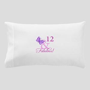 Fabulous 12th Birthday Pillow Case