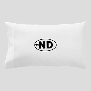 North Dakota Bison Pillow Case