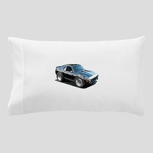 BabyAmericanMuscleCar_74Jav_Black Pillow Case