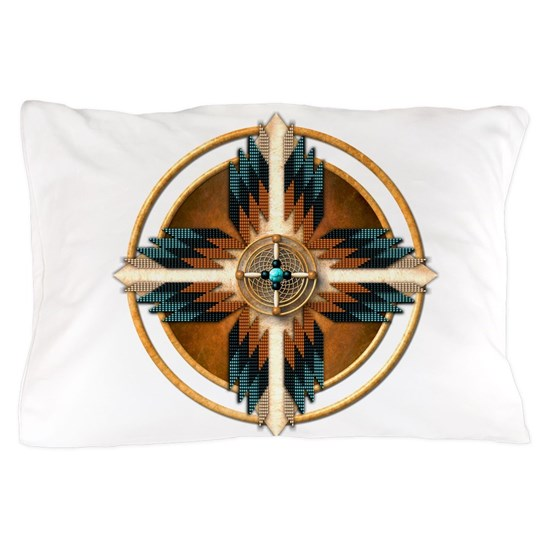 Native American Mandala 02 Pillow Case By Naumaddic Arts Cafepress