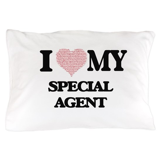 I love my Special Agent (Heart Made from Words)
