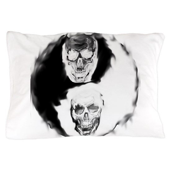Skull Yin and Yang