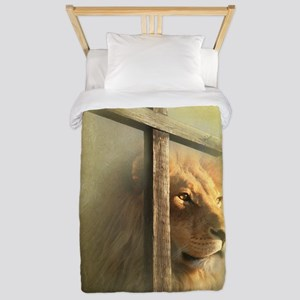 The Lion and the Lamb Twin Duvet