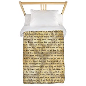 Wiccan Rede Twin Duvet