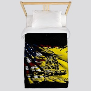 gadsden_kitchen towel Twin Duvet