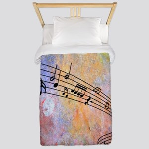 Abstract Music Twin Duvet