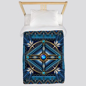 Native American Style Tapestry 3 Twin Duvet