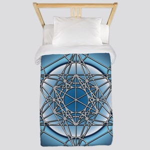 Metatrons Cube Twin Duvet