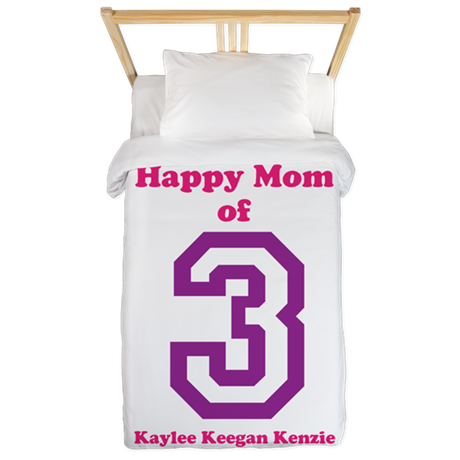 Personalized Mother Twin Duvet