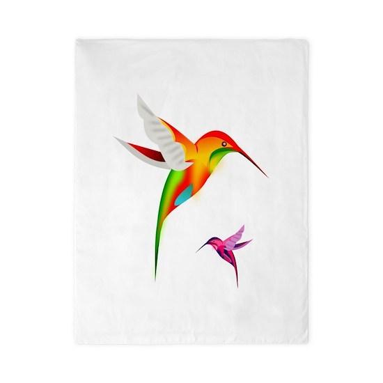 Colorful Hummingbirds Birds