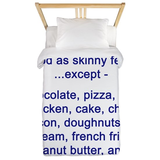 Food over skinny
