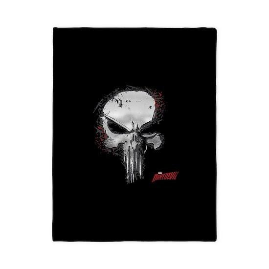 Punisher Skull Red Outline 2 Full Bleed