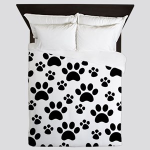 Dog Paws Queen Duvet