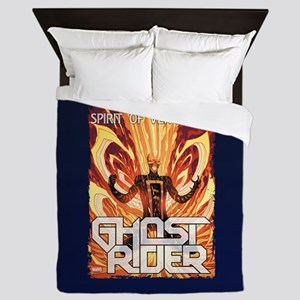 Ghost Rider Spirit Queen Duvet