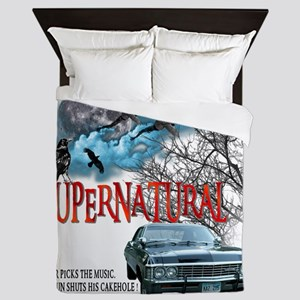 SUPERNATURAL 1967 chevrolet impala Dri Queen Duvet