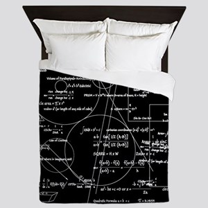 Math Bits Queen Duvet