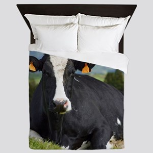 Holstein cow Queen Duvet