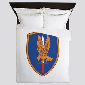1st Aviation Brigade Queen Duvet