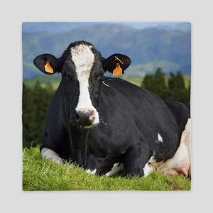 Holstein cow Queen Duvet