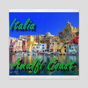 Beautiful Amalfi Coast Queen Duvet