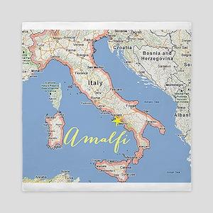 Amalfi, Italy Queen Duvet
