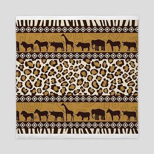 African Safari Queen Duvet