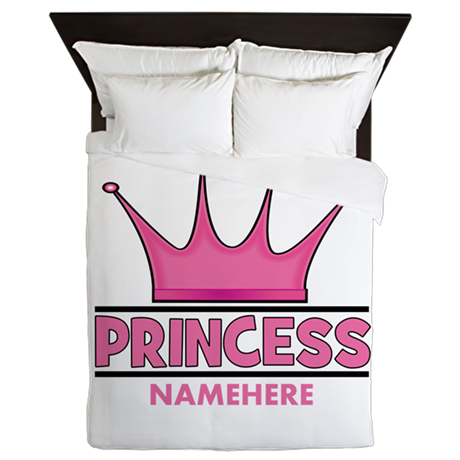 Custom Princess Queen Duvet