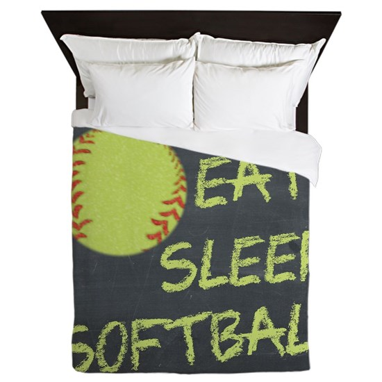 Chalkboard Eat Sleep Softball