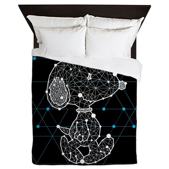 Customizable Snoopy Star Queen Duvet