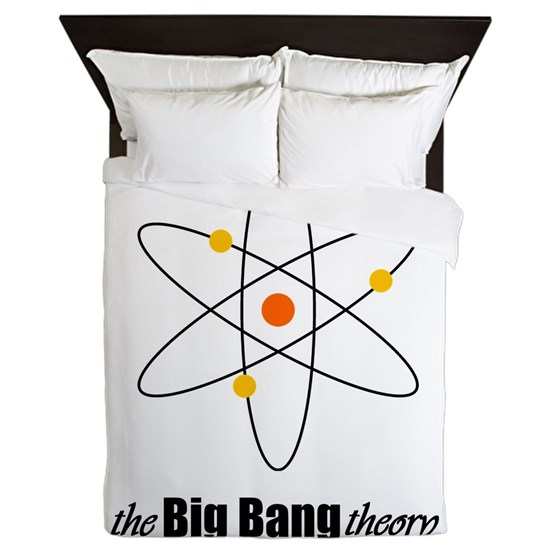 May The Fourth Be With You Big Bang Theory: The Big Bang Theory Symbol Queen Duvet By Kevin