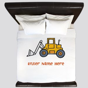 Personalized Loader King Duvet