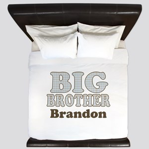 Custom name Big Brother King Duvet