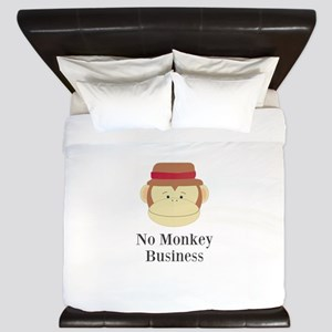 No Monkey Business King Duvet