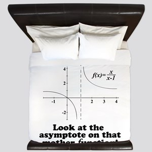 Holy Shift Math Function King Duvet