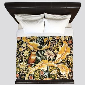 Wm Owl King Duvet