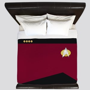 Star Trek: TNG Uniform - Captain King Duvet